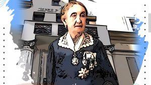 Persida Milenković ispred svog doma